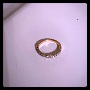 Size 7/8 CTTW diamond band
